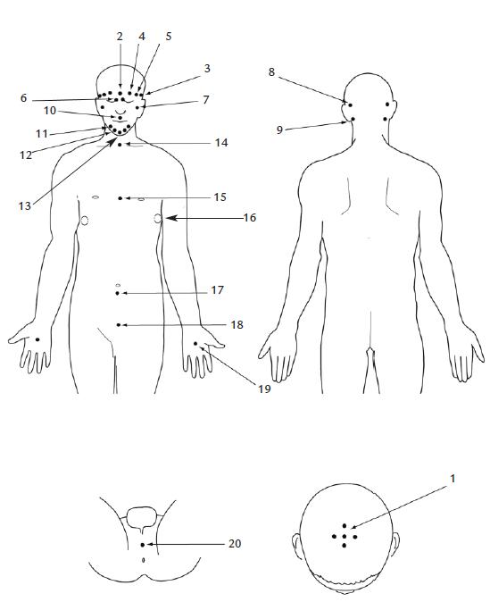 Схема точек к 11 главе